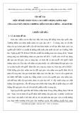 Sáng kiến kinh nghiệm mầm non: Một số biện pháp nâng cao chất lượng giảng dạy của giáo viên trong trường mầm non Hoa Hồng – Đăktờ Re
