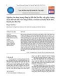 Nghiên cứu thực trạng đăng ký đất đai lần đầu, cấp giấy chứng nhận đối với đất ở cho hộ gia đình, cá nhân tại huyện Hoài Đức, thành phố Hà Nội