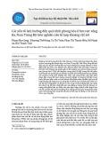 Các yếu tố ảnh hưởng đến quá trình phong hóa ở lưu vực sông Ba, Nam Trung Bộ trên nghiên cứu tổ hợp khoáng vật sét