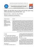 Nghiên cứu giải pháp nâng cao hiệu quả tách thủy ngân trong chất lưu khai thác tại cụm Mỏ Bắc PM3 - CAA