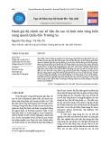 Đánh giá độ chính xác số liệu đo cao vệ tinh trên vùng biển xung quanh Quần đảo Trường Sa