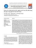 Giám sát và đánh giá hệ số tắc nghẽn tại bộ trao đổi nhiệt dạng tấm giàn công nghệ xử lí khí Hải Thạch