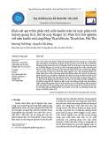 Khảo sát qui trình phân tích mẫu kaolin trên hệ máy phân tích huỳnh quang tia X, thế hệ máy Ranger S2: Phân tích thử nghiệm với mẫu kaolin mỏ Láng Đồng-Thạch Khoán,Thanh Sơn, Phú Thọ