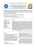 Hiệu quả phương pháp đo sâu từ tellua âm tần kết hợp đo mặt cắt điện trong xác định cấu trúc địa chất trẻ khu vực Quảng Nam, miền Trung Việt Nam