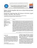Nghiên cứu khả năng đầm chặt của tro xỉ đáy lò Nhà máy Nhiệt điện An Khánh