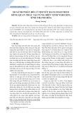 So sánh phân bố lý thuyết Rayleigh theo sóng quan trắc tại vùng biển vịnh Nghi Sơn, tỉnh Thanh Hóa