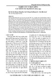 Nghiên cứu vi nhân giống cây chuối ngự Đại Hoàng (Musa spp.)