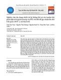 Nghiên cứu tận dụng nhiệt từ hệ thống khí xả của tuabin khí phát điện trên giàn bơm ép vỉa PPD-40.000 để gia nhiệt dầu thô trên giàn CNTT-2, mỏ Bạch Hổ