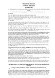 Tiêu chuẩn Quốc gia TCVN ISO 39001:2014