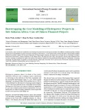 Bootstrapping the cost modelling of hydropower projects in sub-Saharan Africa: Case of chinese financed projects
