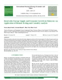 Renewable energy supply and economic growth in Malaysia: An application of bounds testing and causality analysis