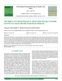 The impact of natural resources, renewable energy, economic growth on carbon dioxide emission in Malaysia