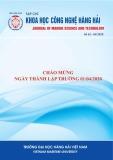 Tạp chí Khoa học - Công nghệ Hàng hải: Số 62-04/2020