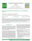 Energy system structure in Russian Arctic: Coal production forecast