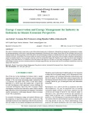 Energy conservation and energy management for industry in Indonesia in islamic economic perspective