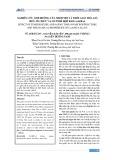 Nghiên cứu ảnh hưởng của nhiệt độ và thời gian hóa già đến tổ chức và cơ tính hợp kim CuAl9Fe4