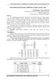 Determining hydrodynamic coefficients of surface marine crafts
