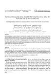 Áp dụng phương pháp giảng dạy pháp luật cộng đồng trong giảng dạy thực hành luật tại Đại học Duy Tân