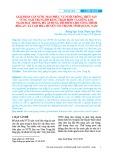 Giải pháp cấp nước mặn phục vụ nuôi trồng thủy sản vùng Nam Trung Bộ bằng trạm bơm và giếng lọc ngầm đặt trong bờ, áp dụng thí điểm cho công trình Hòa An, xã Tam Hòa, huyện Núi Thành, tỉnh Quảng Nam