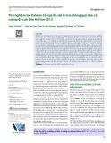 Thử nghiệm lọc Kalman tổ hợp đa vật lý mô phỏng quỹ đạo và cường độ cơn bão HaiYan 2013