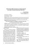 Một số đặc điểm của mạch lạc trong quan hệ lập luận ở văn bản nghị luận tiếng Việt