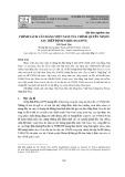Chính sách cân bằng Việt Nam của chính quyền Nixon sau Hiệp định Paris (01-6/1973)