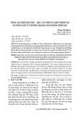 Nâng cao hiệu quả dạy – học các môn Lý luận chính trị và pháp luật ở trường Đại học Hải Phòng hiện nay