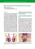 Bảo vệ sàn chậu nữ trong thực hành sản khoa