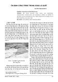 Ổn định công trình trong vùng lũ quét