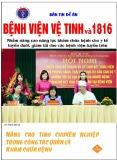 Bản tin đề án Bệnh viện Vệ tinh và 1816: Số 82/2015