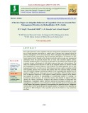 A review paper on adoption behavior of vegetable growers towards pest management practices in bulandshahr (U.P.), India