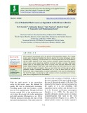 Use of potential plant leaves as ingredient in fish feed - A review
