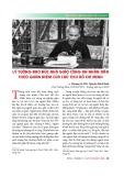 Lý tưởng đạo đức nhà giáo công an nhân dân theo quan niệm của chủ tịch Hồ Chí Minh