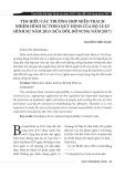 Tìm hiểu các trường hợp miễn trách nhiệm hình sự theo quy định của bộ Luật hình sự năm 2015 (sửa đổi, bổ sung năm 2017)