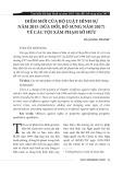 Điểm mới của bộ Luật hình sự năm 2015 (sửa đổi, bổ sung năm 2017) về các tội xâm phạm sở hữu