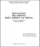 Bài giảng Hệ thống điều khiển tự động: Phần 2 - ĐH Phạm Văn Đồng