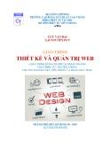 Giáo trình Thiết kế và quản trị web: Phần 1 - CĐ Kỹ Thuật Cao Thắng