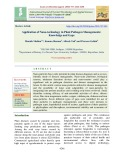Application of nano-technology in plant pathogen managements: Knowledge and gaps
