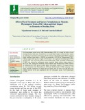 Effect of seed treatment and sprays formulations on morphophysiological traits of bt cotton and their impact on dynamics of sucking pests