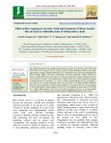 Effect of row spacing on growth, yield and economics of direct seeded rice in eastern vidharbha zone of Maharashtra, India