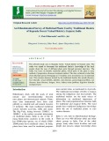 An ethnobotanical survey of medicinal plants used by traditional healers of kaprada forest (Valsad District), Gujarat, India