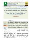 Genetic diversity analysis based on molecular level in selected Brassica compestris L. var. toria genotypes