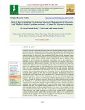 Role of root colonizing trichoderma species in management of alternaria leaf blight of asalio (Lepidium sativum L.) caused by alternaria alternata