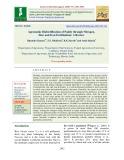 Agronomic biofortification of paddy through nitrogen, zinc and iron fertilization: A review