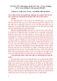 Đề cương ôn thi tốt nghiệp môn Những vấn đề về chủ nghĩa Mác – Lênin, Tư tưởng Hồ Chí Minh, Lịch sử Đảng cộng sản