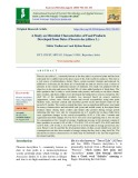 A study on microbial characteristics of food products developed from dates (Phoenix dactylifera L.)