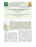 Trichoderma in agriculture: An overview of global scenario on research and its application