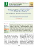 Effect of irrigation methods on yields attributes and water productivity of wheat in vertisol of betwa river basin commands of Vidisha district of M.P, India