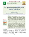 SWOT analysis of agriculture in Kandhamal district of Orissa, India