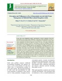Perception and willingness to pay of households towards solid waste management in Hubballi-Dharwadand Bengaluru, India